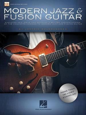 Modern Jazz & Fusion Guitar by Jostein Gulbrandsen image