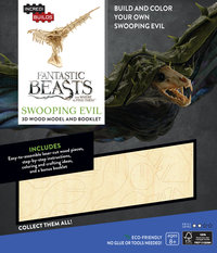 IncrediBuilds: Fantastic Beasts and Where to Find Them 3D Wood Model and Booklet - Swooping Evil