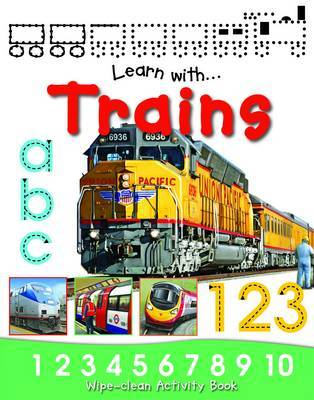 Learn to Write With Trains image