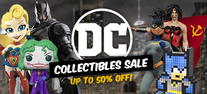 DC Comics Collectible Sale