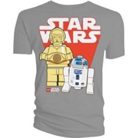 Lego Star Wars R2D2 / C3PO T-Shirt (Medium) image