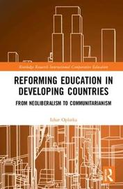 Reforming Education in Developing Countries by Izhar Oplatka image