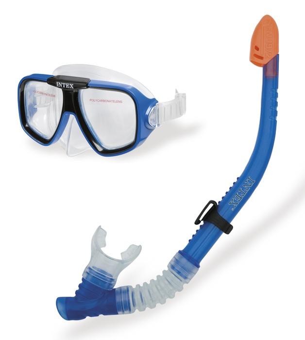 Intex: Reef Rider - Mask & Snorkel Swim Set