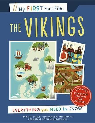 My First Fact File the Vikings by Philip Steele
