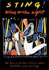 Sting - Bring On The Night on DVD