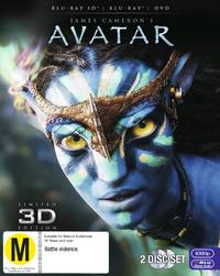 Avatar 3D DVD