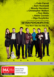 Seven Psychopaths on DVD