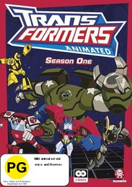 Transformers Animated - Season One on DVD