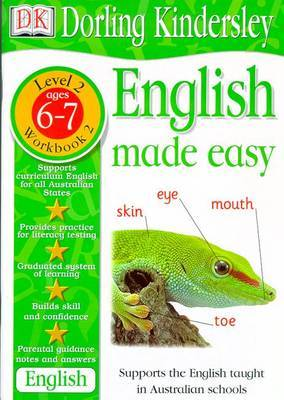English Made Easy Level 2 (Age 6-7): Workbook 2 by Dorling Kindersley