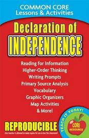 Declaration of Independence Common Core Lessons & Activities by Carole Marsh