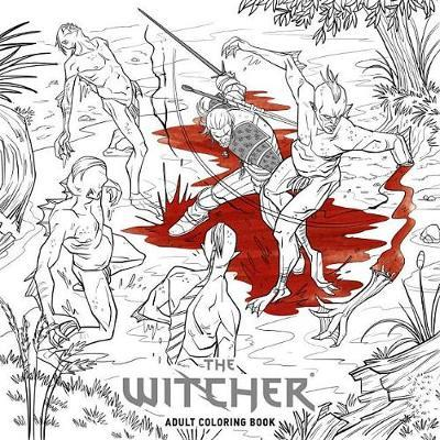 The Witcher Adult Coloring Book by CD Projekt Red image