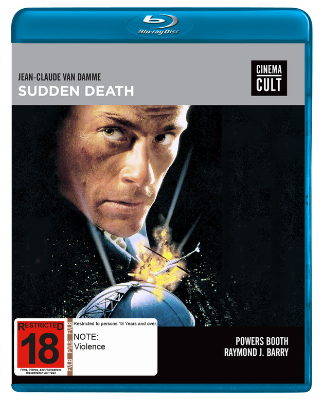 Sudden Death (Cinema Cult) on Blu-ray