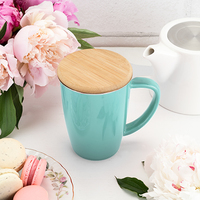 Pinky Up: Bailey Ceramic Tea Mug & Infuser - Blue