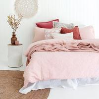 Kokomo Quilt Cover Set - Single (Pink)