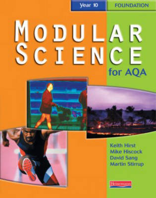 Modular Science for AQA: Year 10: Fondation by Keith Hirst image