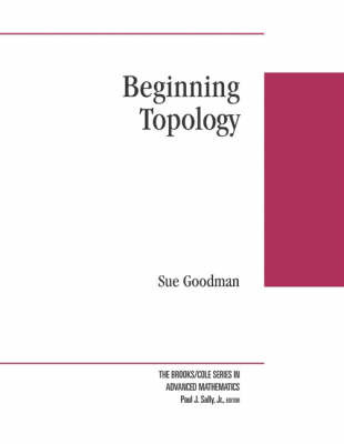 Beginning Topology by Sue E. Goodman image