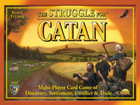 The Struggle for Catan Card Game image