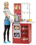Barbie Careers: Spagetti Chef - Doll Playset