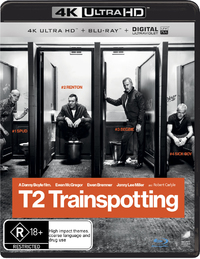 Trainspotting 2 on Blu-ray, UHD Blu-ray, UV