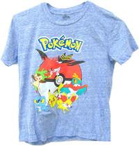 Pokemon: Blue Starters - T-Shirt (Size 7)