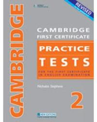 CAMBRIDGE FC PRACTICE TESTS 2REVISED EDTION STUDENT'S BOOK by Nicholas Stephens image
