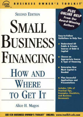 Small Business Financing by Alice H. Magos image