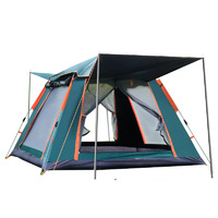 2-3 Person Instant Camping Tent - Waterproof and UV Protection UPF 50+