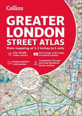 Greater London Street Atlas by Collins Maps