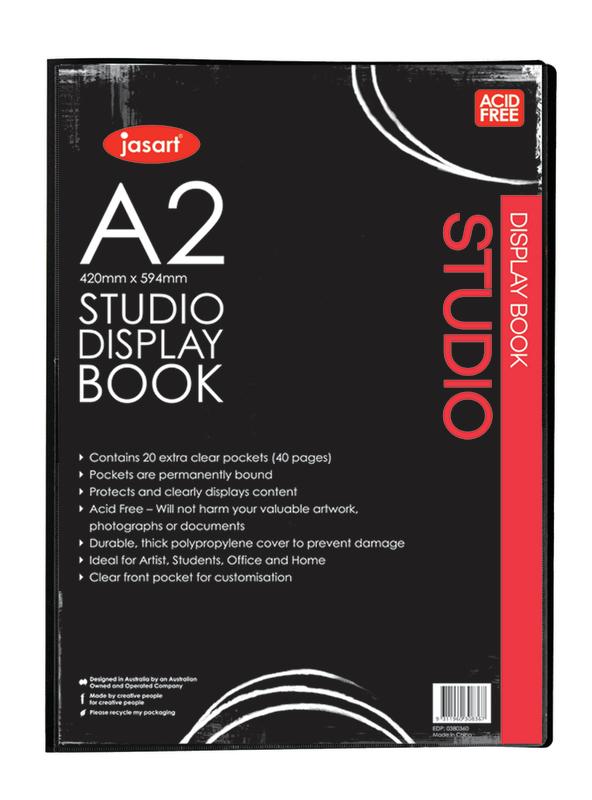 Jasart: Studio Display Book (A2)