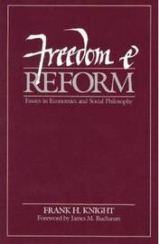 Freedom and Reform by Frank H Knight image
