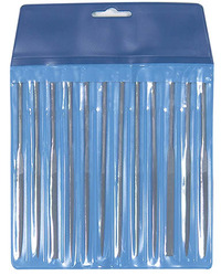Excel Assorted Needle Files In a Pouch (12pk)