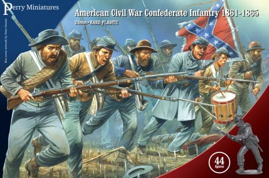American Civil War Confederate Infantry image