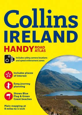 Collins Handy Road Atlas Ireland by Collins Maps image