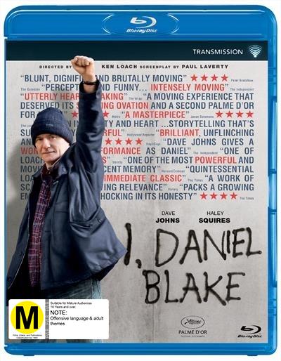 I, Daniel Blake on Blu-ray image