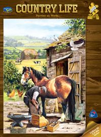 Holdson: 1000 Piece Puzzle Country Life Farrier at Work