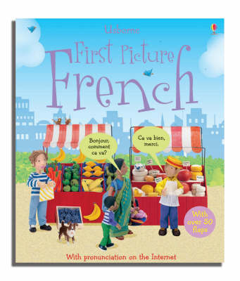 First Picture French by Felicity Brooks image