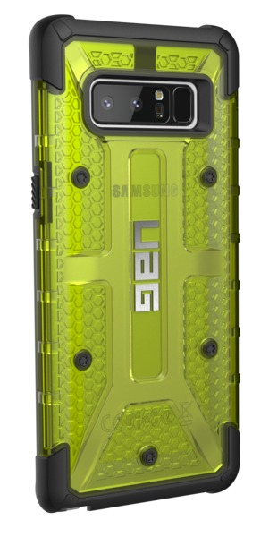UAG Plasma Case for Galaxy Note 8 (Citron/Black)