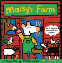 Maisy's Farm: A Pop-up and Play Set by Lucy Cousins image