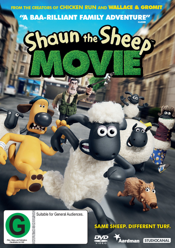 Shaun the Sheep Movie on DVD