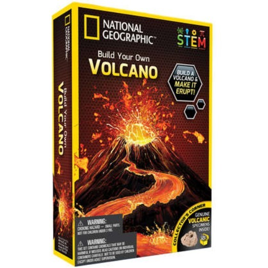 National Geographic: Volcano Science Kit