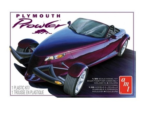 AMT: 1/25 1997 Plymouth Prowler- Model Kit