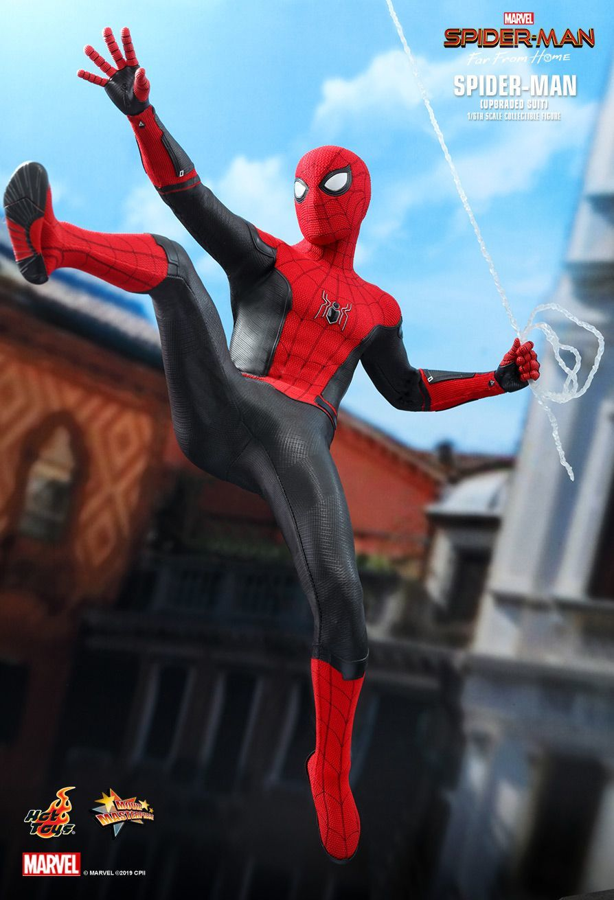 "Spider-Man: Upgraded Suit - 12"" Articulated Figure image"