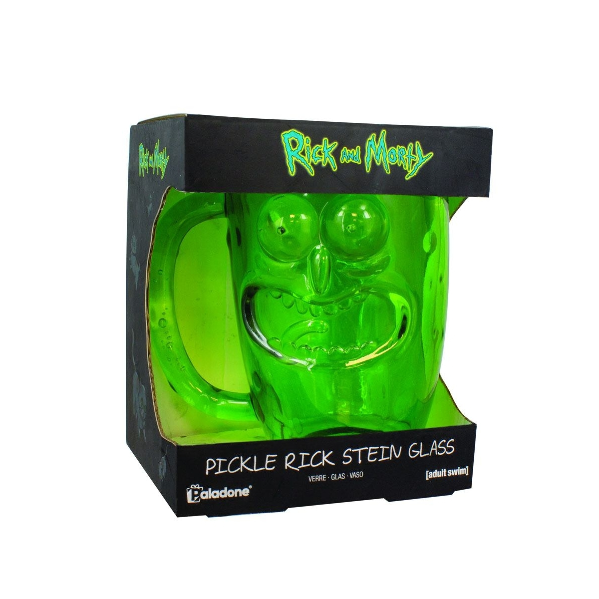 Rick & Morty: Pickle Rick Glass Stein image