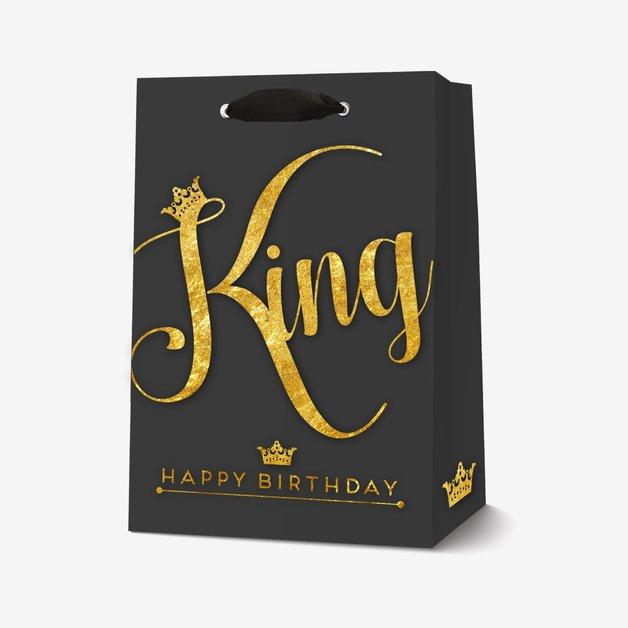 Legami: Medium Gift Bag - King