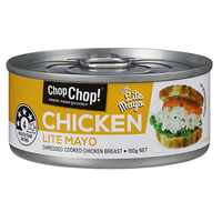 Chop Chop: Shredded Chicken with Lite Mayo 160g (12 Pack)