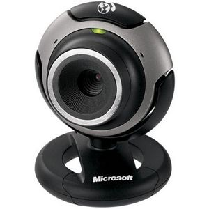 Microsoft LifeCam VX-3000 Silver/Black USB image