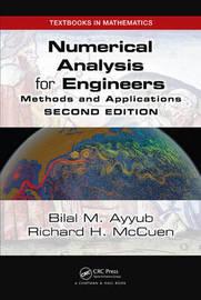 Numerical Analysis for Engineers by Bilal M Ayyub