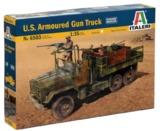 Italeri: 1:35 US Armoured Gun Truck - Model Kit