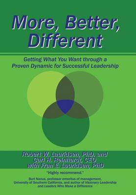 More, Better, Different by R Lauridsen