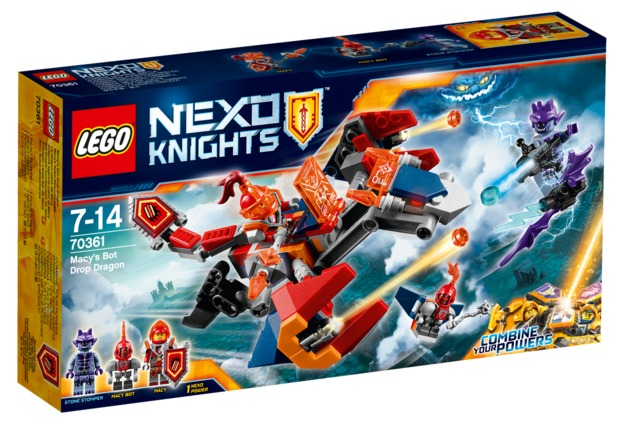 LEGO Nexo Knights: Macy's Bot Drop Dragon (70361)